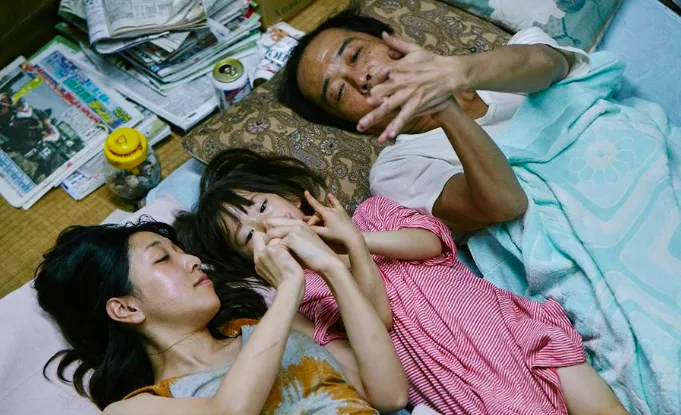 What It's About: A tight-knit family uses petty theft to get by, but their lives are turned upside-down when they take in a child. What It's Nominated For: Best Foreign Language Film.