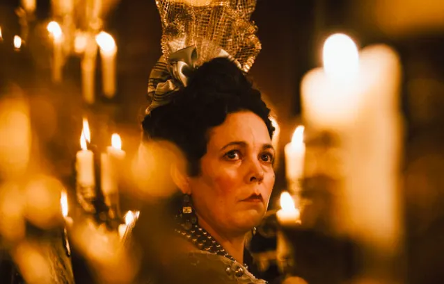 What It's About: An emotionally-unstable Queen Anne passes power onto her confidant, Lady Sarah, during wartime. However, the arrival of Sarah's cousin, Abigail, causes a power shakeup as she charms the Queen.What It's Nominated For: Best Picture, Actress in a Leading Role (Olivia Colman), Actress in a Supporting Role (Emma Stone), Actress in a Supporting Role (Rachel Weisz), Cinematography, Costume Design, Directing, Film Editing, Production Design, and Original Screenplay.