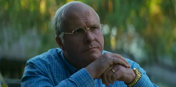 What It's About: The almost unbelievable true story of Dick Cheney's stint as Vice President of the United States and the chaos that ensued.What It's Nominated For: Best Picture, Actor in a Leading Role (Christian Bale), Actor in a Supporting Role (Sam Rockwell), Actress in a Supporting Role (Amy Adams), Directing, Film Editing, Makeup/Hairstyling, and Original Screenplay.